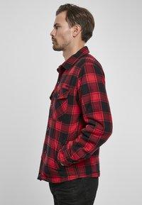 Brandit - Denim jacket - red/black - 3