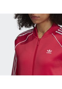 adidas Originals - TRACKTOP - Bombertakki - power pink/white - 5