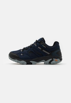 RAVUS VENT LITE LOW WATERPROOF - Hiking shoes - midnight/black/monument