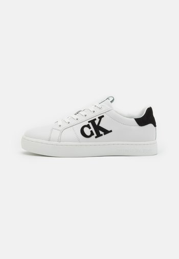 CUPSOLE LACEUP LOGO - Trainers - white/black