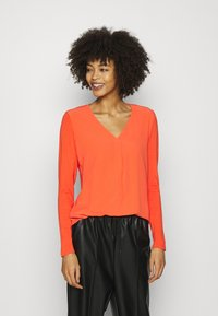 Opus - FASINA - Long sleeved top - fresh coral - 2