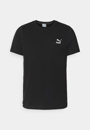 CLASSICS EMBRO TEE - T-shirt imprimé - black