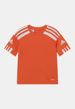 SQUAD UNISEX - Camiseta estampada - team orange/white