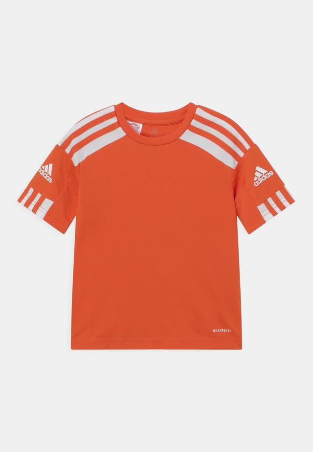 SQUAD UNISEX - T-shirt print - team orange/white