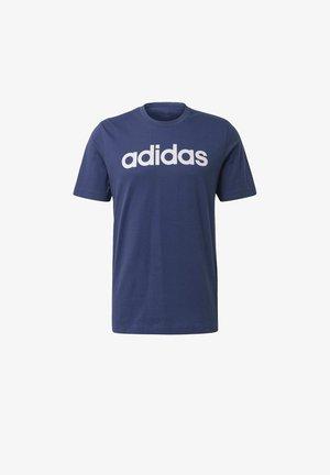 ESSENTIALS LINEAR LOGO T-SHIRT - Camiseta estampada - blue