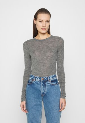 ODDRUN - Long sleeved top - grey medium