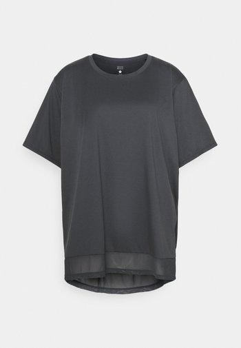 INSERT CURVE - Print T-shirt - ombre blue