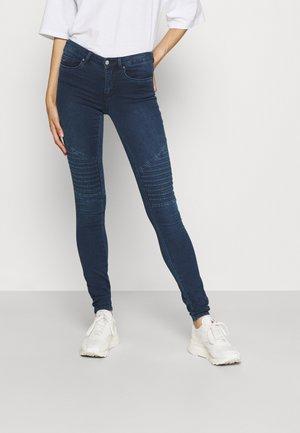 ONLROYAL BIKER - Jeans Skinny Fit - dark blue denim