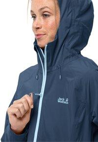 Jack Wolfskin - HIGHEST PEAK - Waterproof jacket - dark indigo - 2
