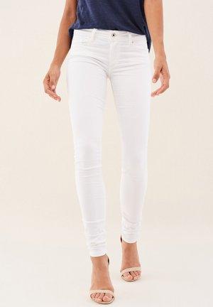 PUSH UP SKINNY - Jeans Skinny Fit - weiß_0001