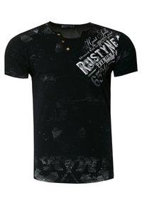 Rusty Neal - Print T-shirt - schwarz - 0