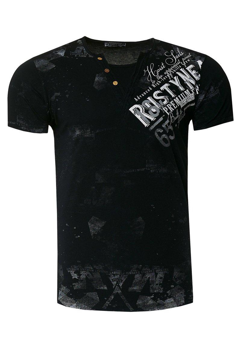 Rusty Neal - Print T-shirt - schwarz