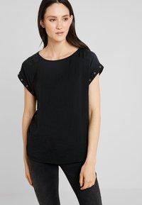 s.Oliver - Basic T-shirt - black - 0
