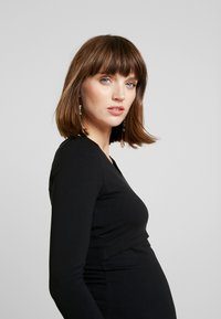 Zalando Essentials Maternity - 2 PACK - Topper langermet - off-white/black - 3