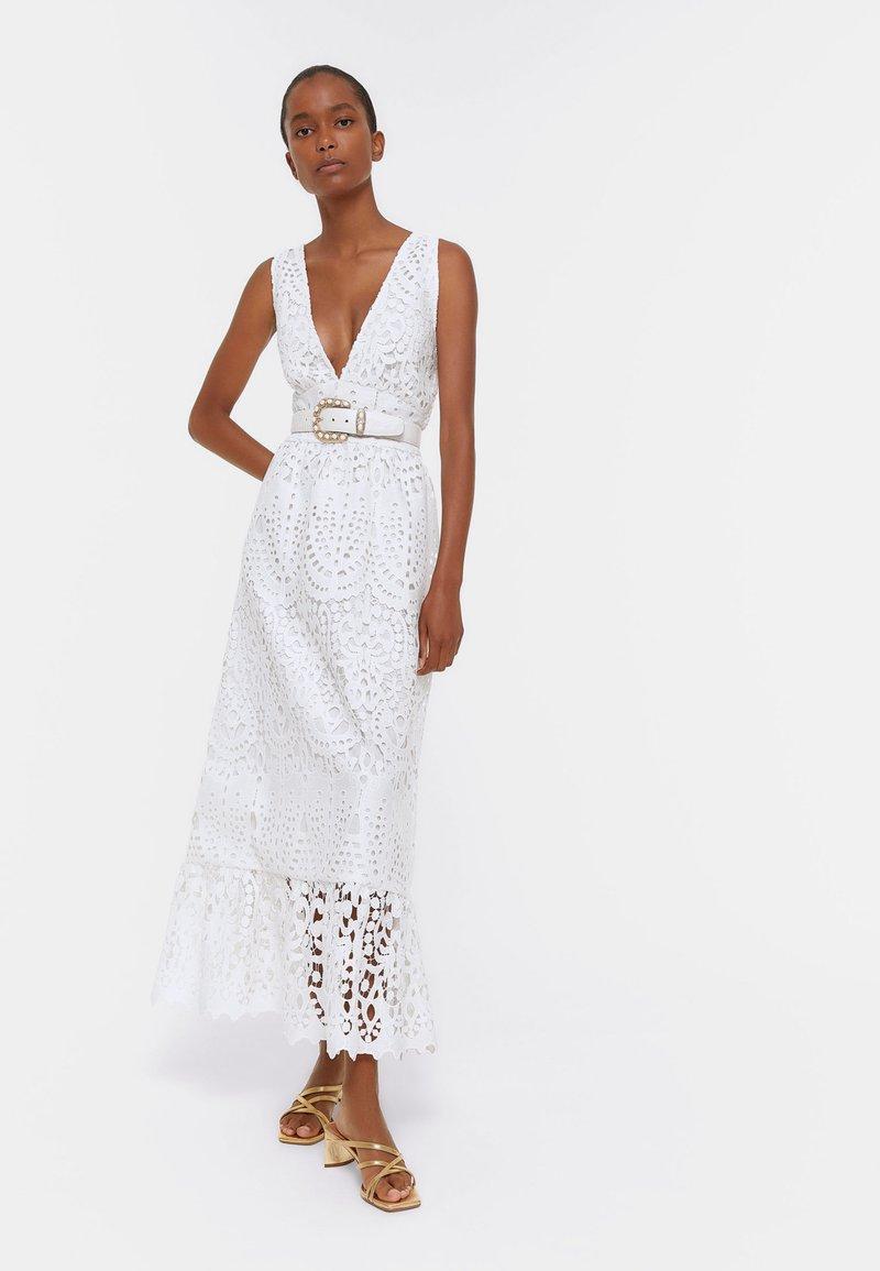 Uterqüe - Maxi dress - white