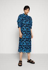 Hofmann Copenhagen - BARBARA - Shirt dress - pacific blue - 0