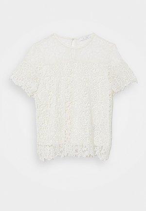 VIJUANA - T-shirts print - cloud dancer