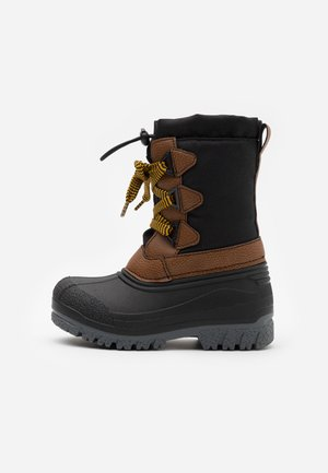 Snowboots  - black/brown