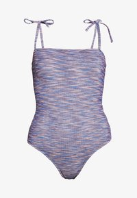 aerie - ONE PIECE CHEEKY STRAIGHT NECK SPACE DYE - Badedrakt - navy - 4