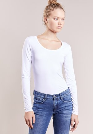 SELIMA - Long sleeved top - white
