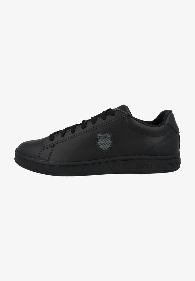 COURT SHIELD - Trainers - black-black (06599-001)