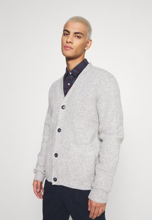 JPRBLAJAMES CARDIGAN - Kofta - light grey melange