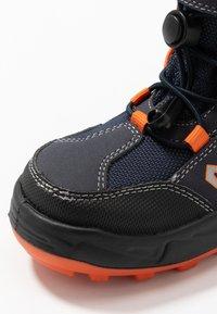 Lurchi - KALINO SYMPATEX - Lace-up ankle boots - atlantic/orange - 5