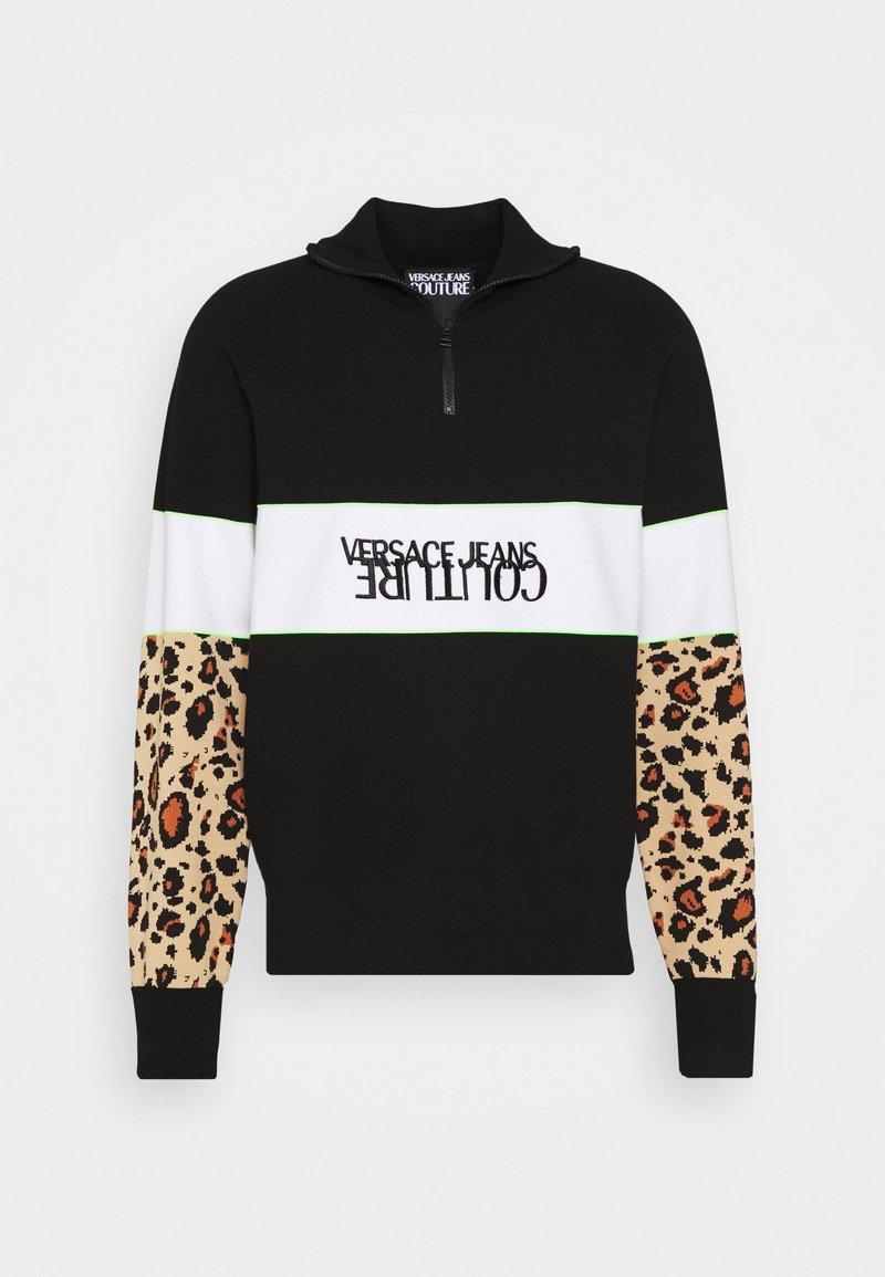Versace Jeans Couture - SPORTY - Felpa - black/brown