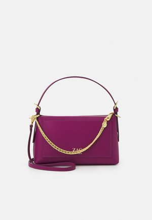 POSEN ZIP TOP CROSSBODY - Käsilaukku - magenta