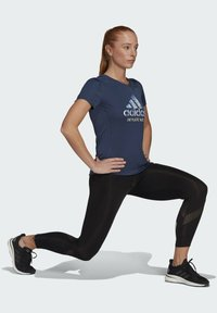 adidas Performance - RUN FOR THE OCEANS GRAPHIC - T-shirts med print - blue - 1