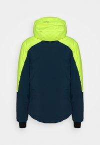 CMP - MAN JACKET FIX HOOD - Ski jacket - yellow fluo - 1