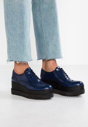 AMICO - Šněrovací boty - bleu marine