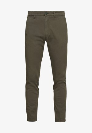 MAD - Pantalones chinos - oliv