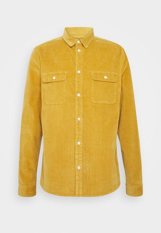 Skjorte - mustard yellow