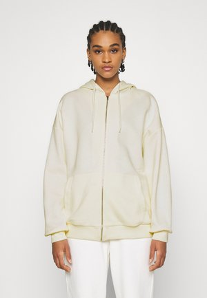 NA-KD X ZALANDO EXCLUSIVE ZIP HOODIE - Zip-up hoodie - off-white