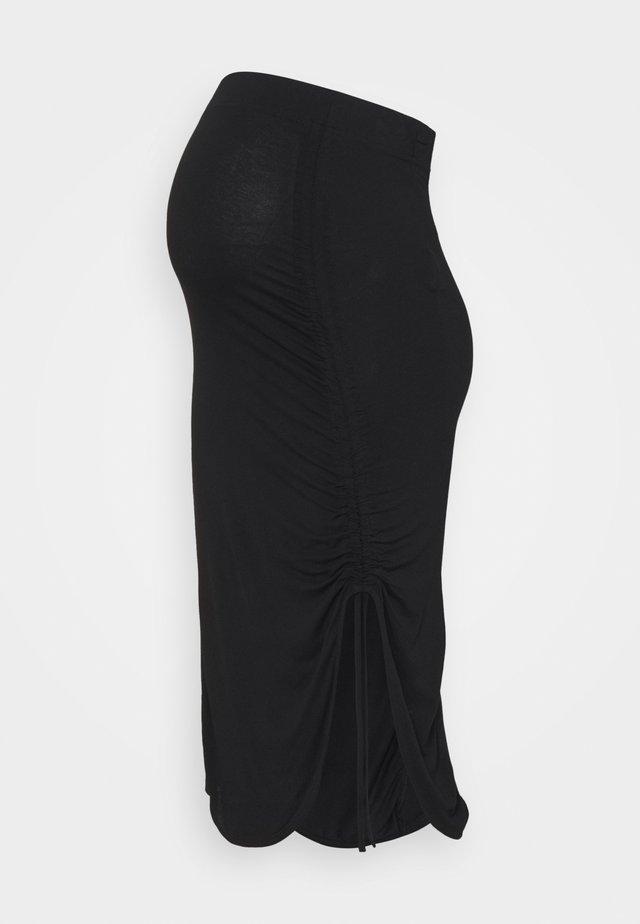 PCMNEORA STRING SKIRT - Pouzdrová sukně - black
