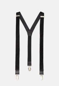 Only & Sons - ONSBOWTIE SUSPENDER SET - Belt - black - 3