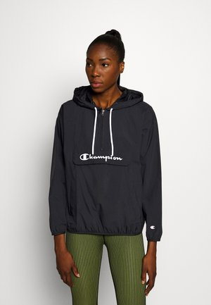 HALF ZIP - Windbreakers - black