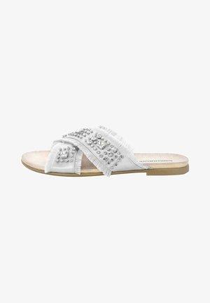 QUERCIA - Pantofle - silver