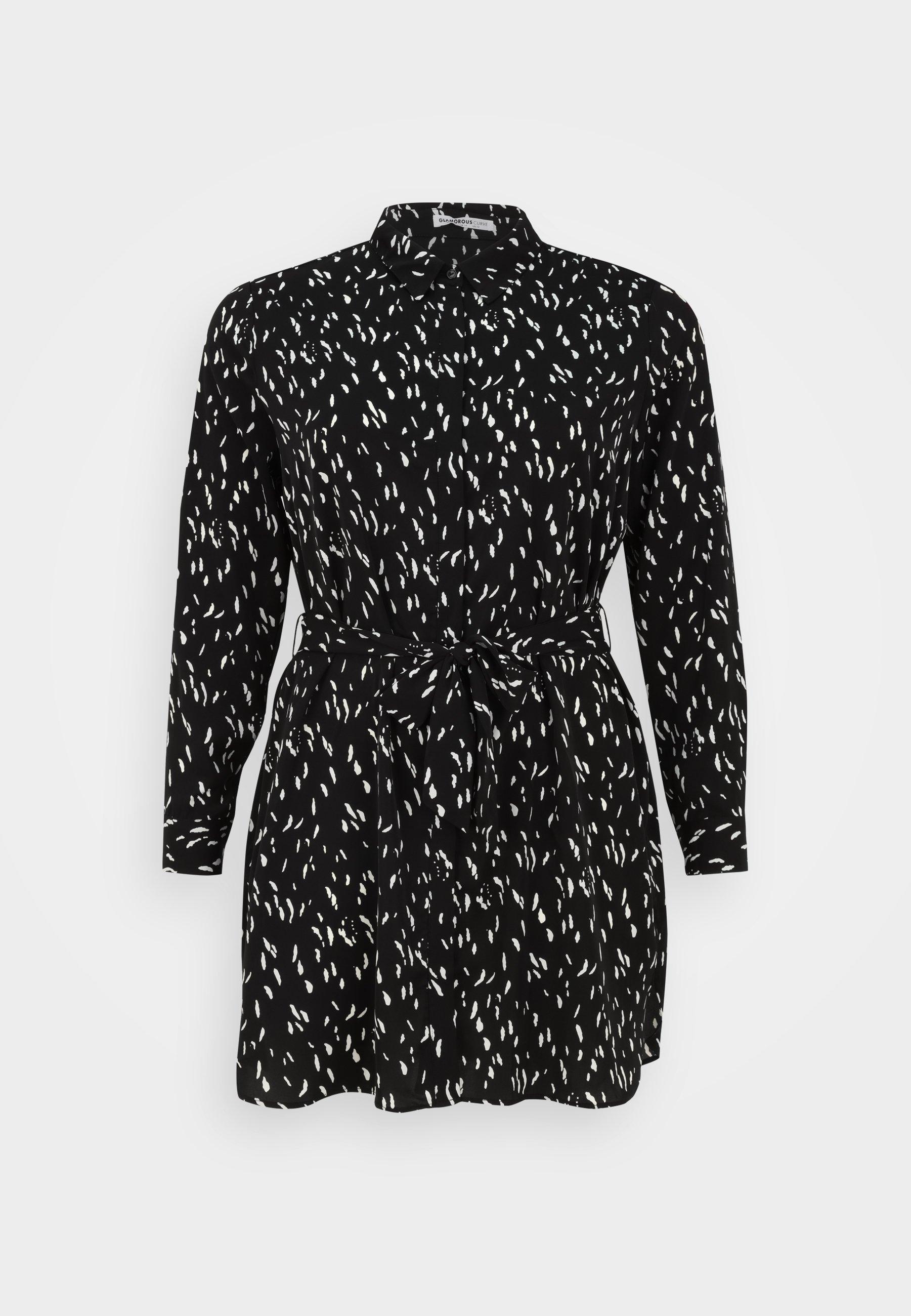 Donna SHIRT DRESS WITH BELT - Abito a camicia