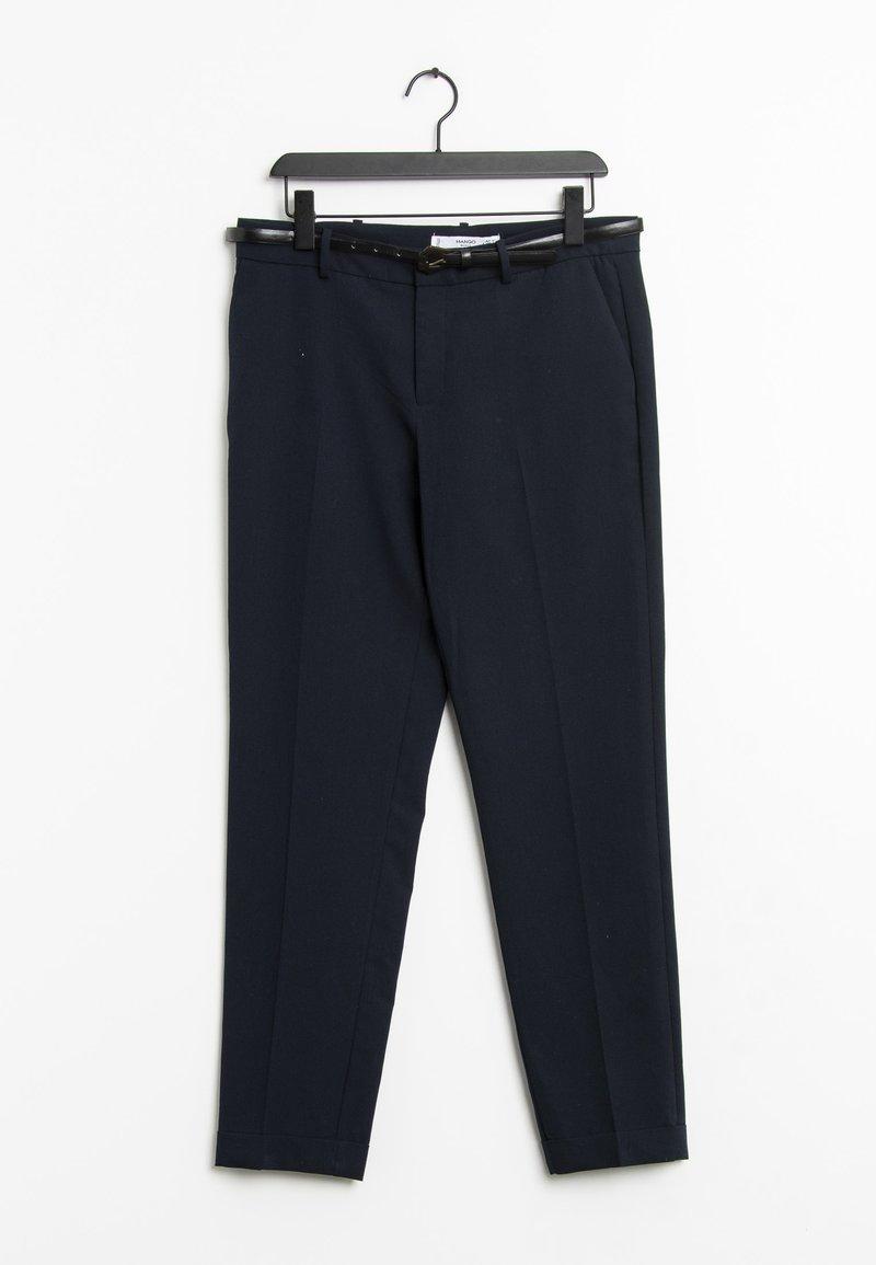 Mango - Trousers - blue