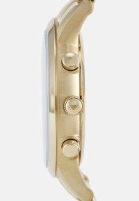 Emporio Armani - RENATO - Cronografo - gold-coloured - 2