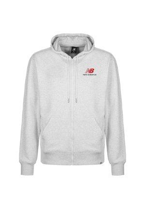 ESSENTIALS ICON KAPUZENSWEATJACKE HERREN - Zip-up hoodie - other white