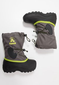 Kamik - SOUTHPOLE4 - Winter boots - charcoal/charbon - 0