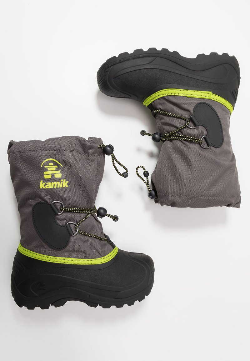 Kamik - SOUTHPOLE4 - Winter boots - charcoal/charbon