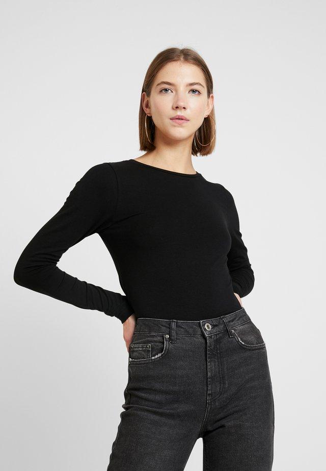 BYPAMILA  - T-shirt à manches longues - black