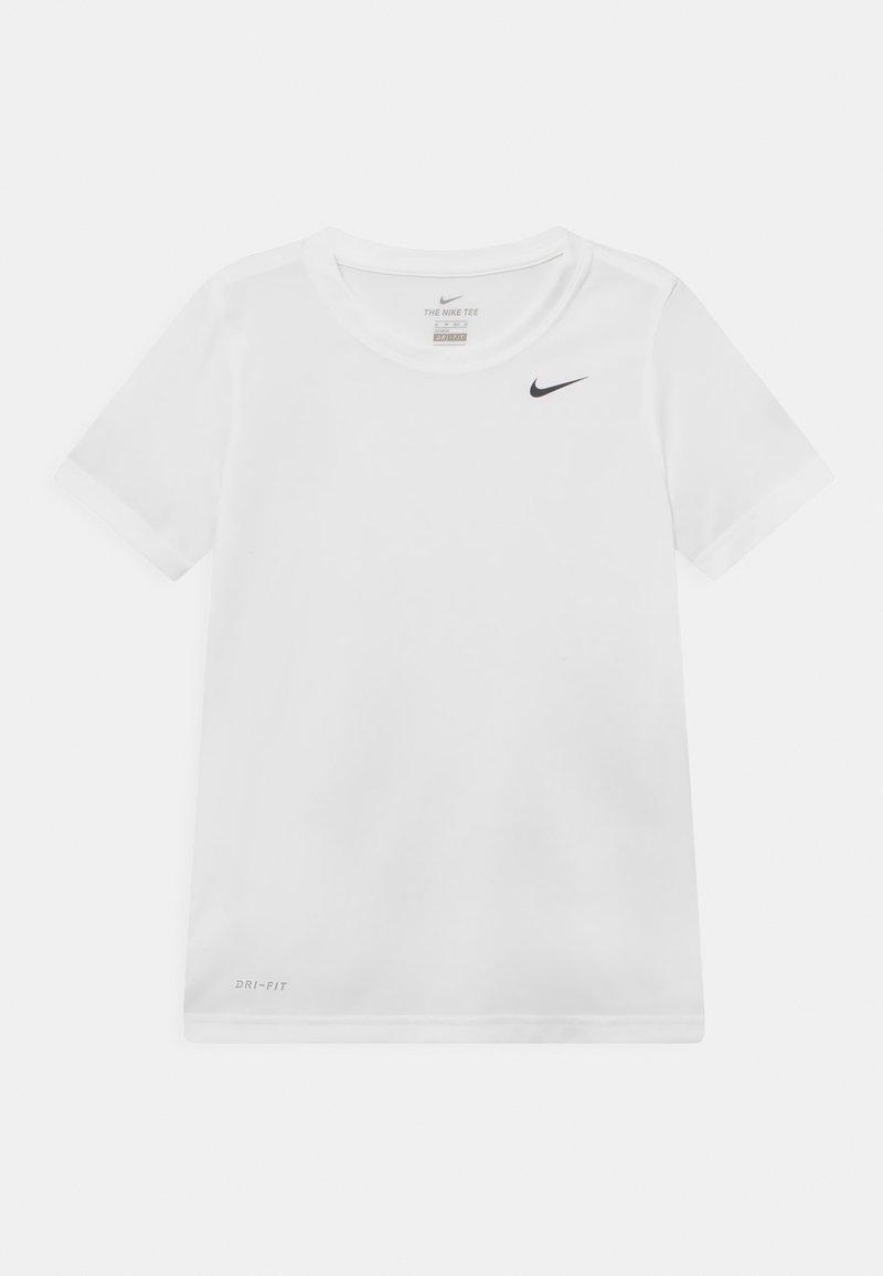 Nike Performance - DRY TEE LEGEND UNISEX - Basic T-shirt - white
