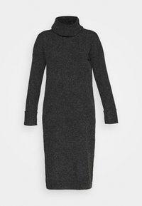 VMCARINA LONG COWLNECK DRESS - Jumper dress - black