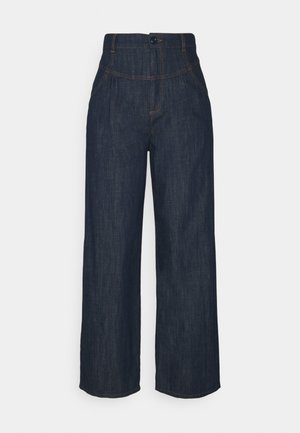 Flared jeans - denim blue