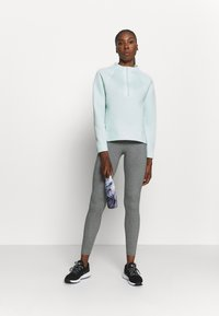 Under Armour - MOVE HALF ZIP - Sweatshirt - seaglass blue - 1